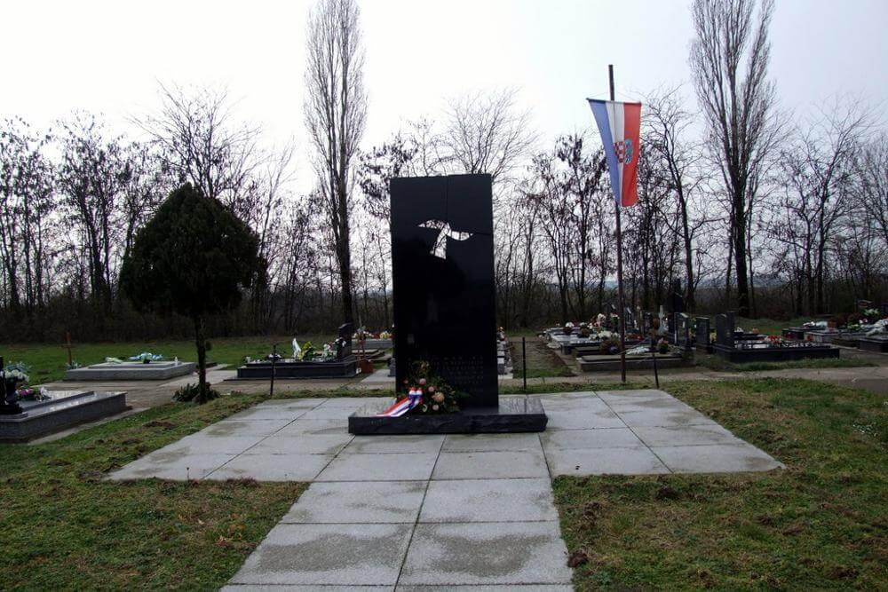 Spomen-obilježje u Bogdanovcima - 01