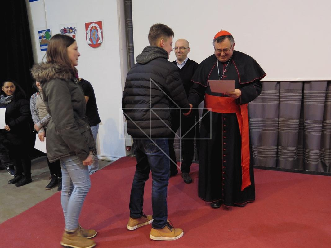 Kardinal Vinko Puljić u Školi mira - 20