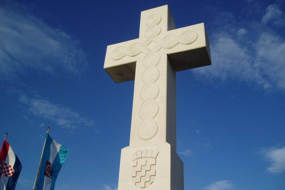 Središnji križ na ušću Vuke u Dunav - 03