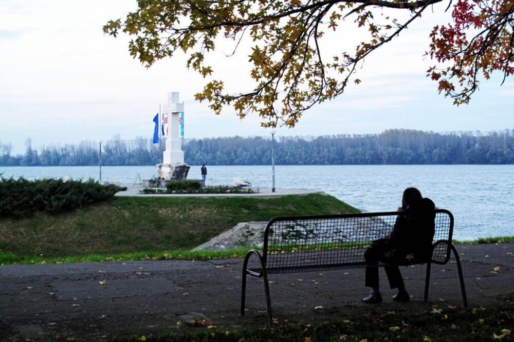 Središnji križ na ušću Vuke u Dunav - 04