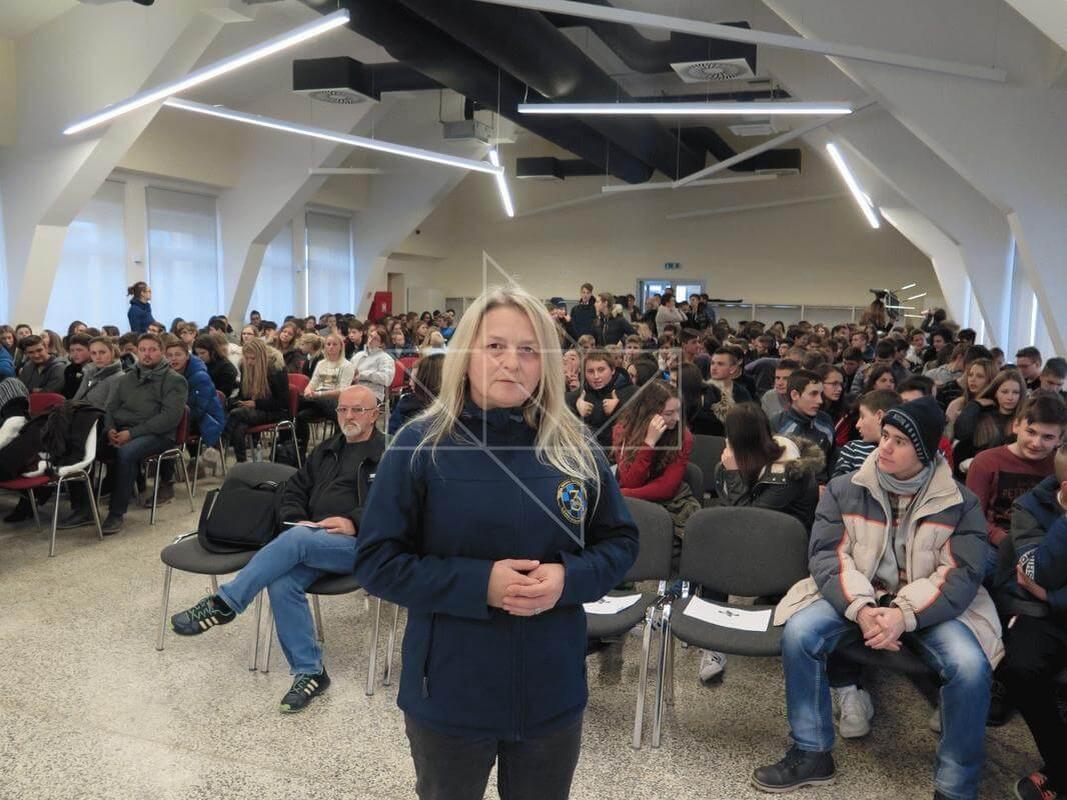 Gošća predavačica u Školi mira gospođa Slađana Horvatić - 01