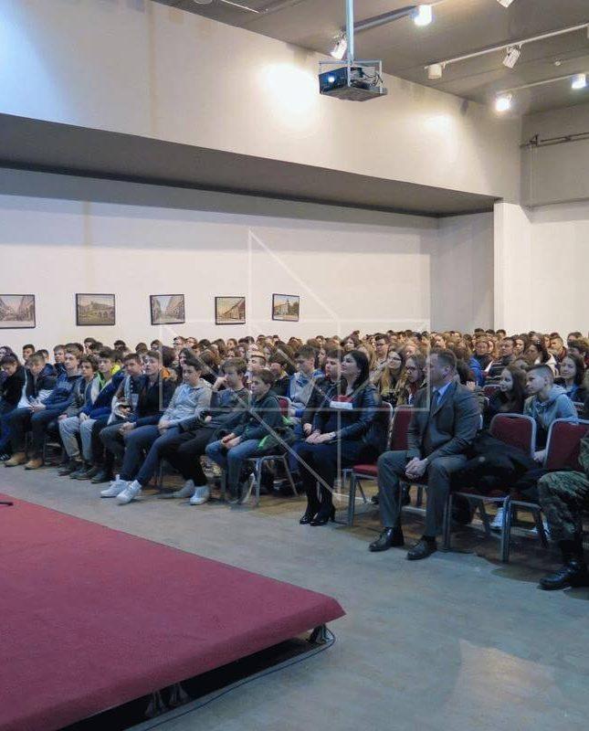 Ministrica Gabrijela Žalac u Školi mira - 03