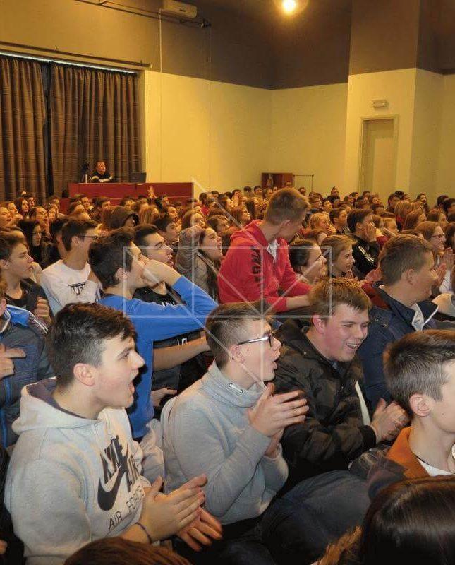 Ministrica Gabrijela Žalac u Školi mira - 09