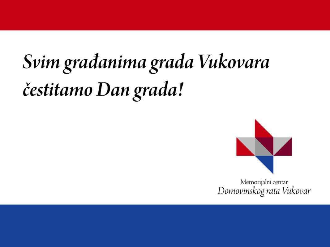 Svim građanima Vukovara čestitamo Dan grada