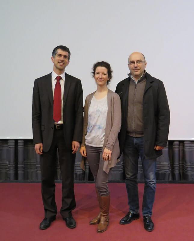 Arne Hartig i Lana Mayer u Školi mira - Istaknuta