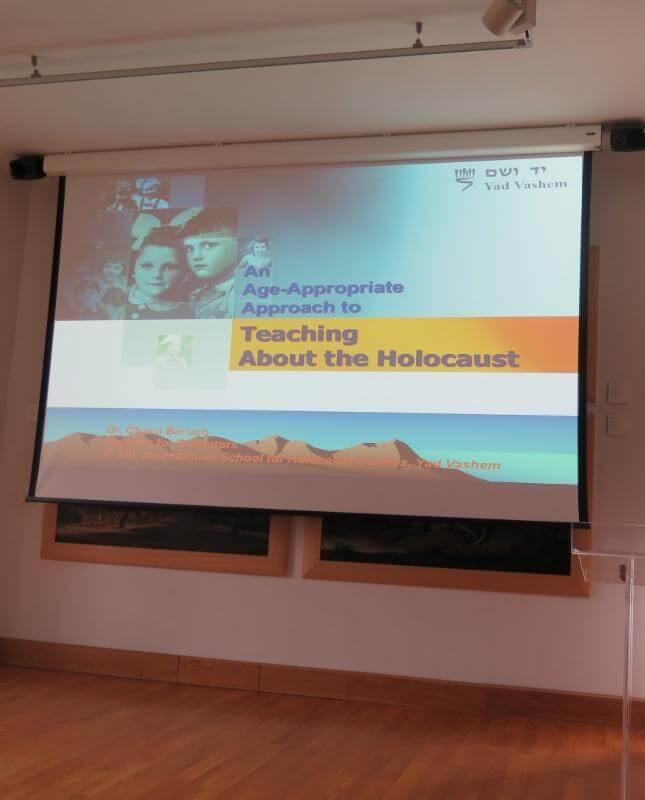 """Stručni skup """"Poučavanje o holokaustu"""" - Istaknuta"""