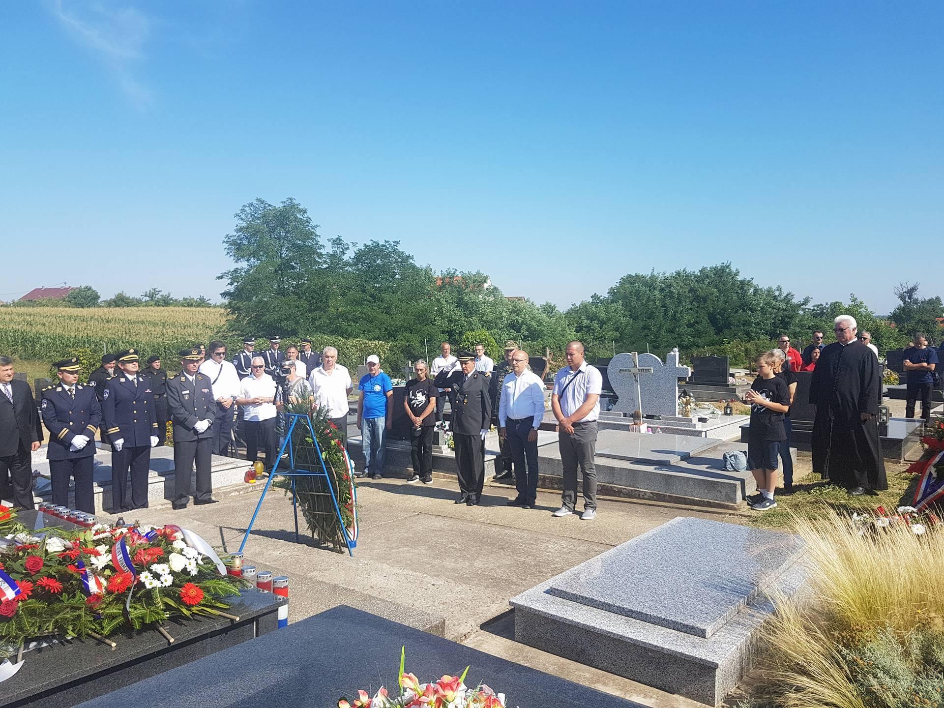 Godišnjica smrti pukovnika HV-a Andrije Andabaka