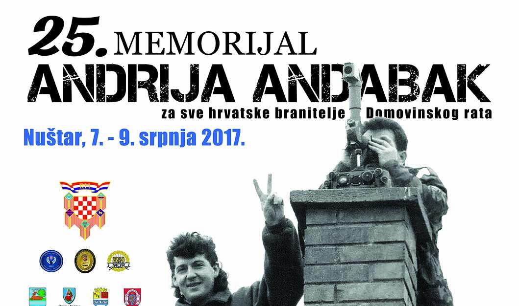 U susret 25. memorijalu Andrija Andabak